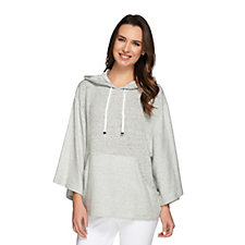 158205 - AnyBody Loungewear French Terry Hooded Sweatshirt