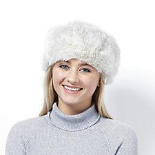 Dennis Basso Faux Fur Hat