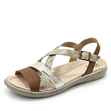 Earth Spirit Oceanside Snake Trim Sandal