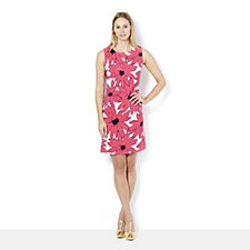 Ronni Nicole Sleeveless Flower Print Dress