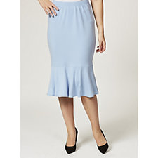 Kim & Co Crepe Frilled Skirt