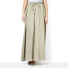 Ronen Chen Gillian Woven Maxi Skirt