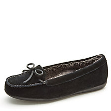 159806 - Vionic Orthotic Cozy Ida Moccasin Slipper with FMT Technology