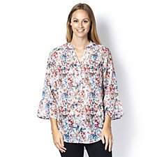 Fashion by Together Floral Print Blouse