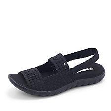 163506 - Adesso Betsy Slingback Stretch Weave Sandal