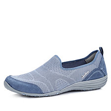 Skechers Unity Moonshadow Soft Knot & Suede Slip on Shoe with Memory Foam