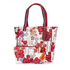 Pia Rossini Mauritius Large Shopper Make up Bag and Coin Purse Set