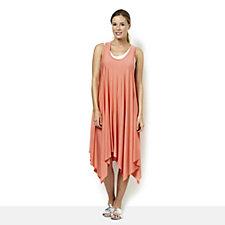 108607 - Yong Kim Modal Sleeveless Zip Back Dress