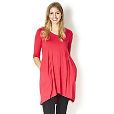 164707 - Join Clothes Tunic with Godet Back 3/4 Sleeves