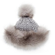 Pia Rossini Cara Hat with Faux Fur Lining