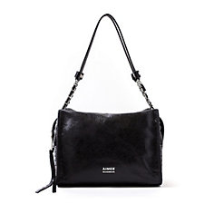 Aimee Kestenberg Alexis Leather Shoulder Bag with Chain Handle