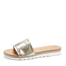 174507 - Moda in Pelle Slip On Mule Sandal