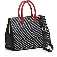 Lulu Guinness Daphne Medium Smooth Leather Tote Bag