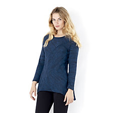 156408 - Mr Max Space Dye Knit Tunic