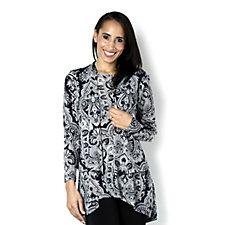 Kim & Co Mirror Paisley Tokyo Sleeveless Tunic & Bolero