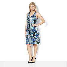 Ronni Nicole Sleeveless All Over Print Jersey Dress