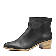 Clarks Breccan Myth Chelsea Boot with Stacked Heel