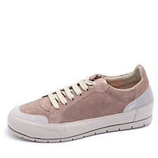 Manas Lace Up Suede Sneaker