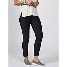 WynneLayers Knit Crepe Narrow Leg Pull On Trousers