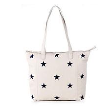 172208 - Amanda Lamb Leather Star Shopper Bag