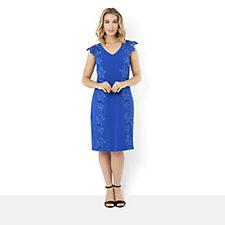 JM by Julien Macdonald Dress with Lace Detail