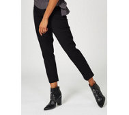 Isaac Mizrahi Live Ankle Length Slim Leg Stretch Trouser
