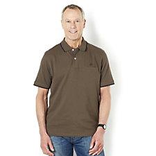 John Bradley Men's Essential Cotton Pique Polo