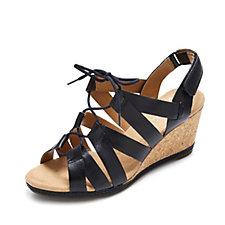 Clarks Helio Minden Wedge Slingback Sandal
