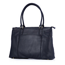 Amanda Lamb Large Leather Multi Pocket Shopper Bag