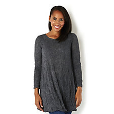 Yong Kim Crinkle Sweater Knit Tunic
