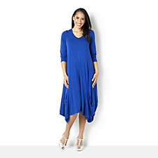 Join Clothes Jersey Dress with Gathered Hem Detail