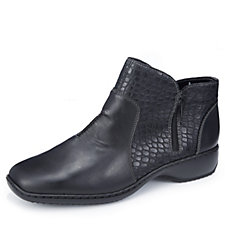 Rieker Ankle Boot with Textured Detail