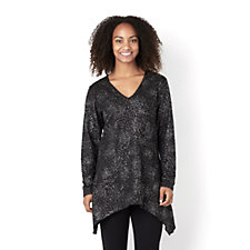 Deco Rose Tunic by Michele Hope