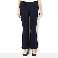Diane Gilman Ponte Knit Bootcut Trouser