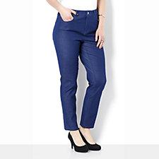 159711 - H By Halston Bi-Stretch Ankle length Denim Jean