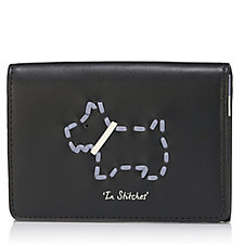 Radley London In Stitches Leather Flapover Card Holder