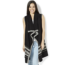 Attitudes by Renee Drepe Front Knitted Waistcoat