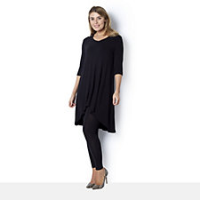 Join Clothes Soft Jersey Dip Back Tunic