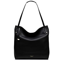 Radley London Willow Large Leather Zip Top Tote Bag