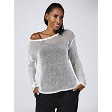 173011 - WynneLayers Sheer Knit Sweater