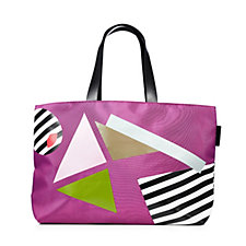 Lulu Guinness Large Larysa Nylon Pop Out Girl Tote Bag