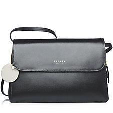 Radley London Millbank Medium Leather Flapover Multiway Bag