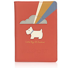 Radley London Ray Of Sunshine Leather Passport Holder