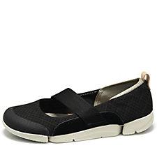 Clarks Tri Allie Ballerina Slip On Shoe Standard Fit