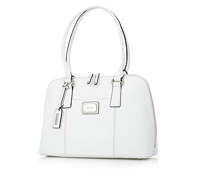 Tignanello Clean & Classic Saffiano Leather Accordian Satchel - 126113