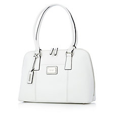 Tignanello Clean & Classic Saffiano Leather Accordian Satchel