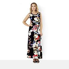 JM by Julien Macdonald Floral Print Maxi Dress