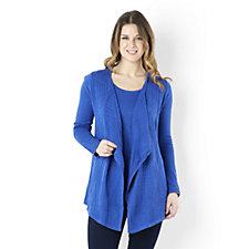 Knitted Cardigan & Vest Set by Nina Leonard