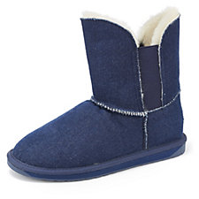 Emu Greenhill Denim Sheepskin Ankle Boots