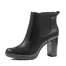 Clarks Elipsa Dee Leather Ankle Boot with Ortholite Insole